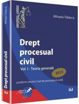 Imagine Drept procesual civil. Vol. I - Teoria generala M