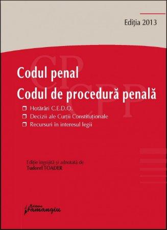 Imagine Codul penal. Codul de procedura penala. Hotarari CEDO