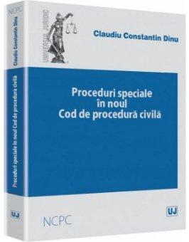 Imagine Proceduri speciale in Noul cod de procedura civila