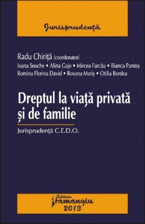 Imagine Dreptul la viata privata si de familie. Jurisprudenta CEDO
