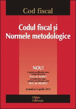 Imagine Codul fiscal si normele metodologice 4.04.2013