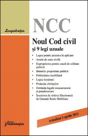 Imagine Noul cod civil si 9 legi uzuale 3.04.2013