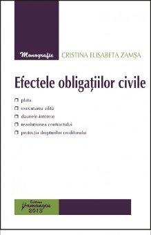 Imagine Efectele obligatiilor civile