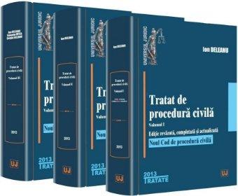 Imagine Tratat de procedura civila. Vol. I, Vol. II, Vol. III