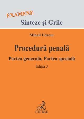 Imagine Procedura penala. Partea generala. Partea speciala. Editia a 3-a