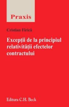 Imagine Exceptii de la principiul relativitatii efectelor contractului