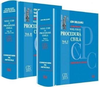 Imagine Noul Cod de procedura civila. Comentarii pe articole