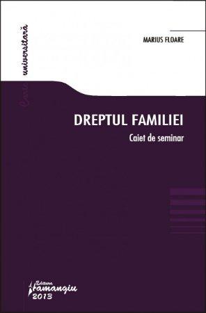 Imagine Dreptul familiei - Caiet de seminar