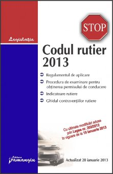 Imagine Codul rutier 28.01.2013