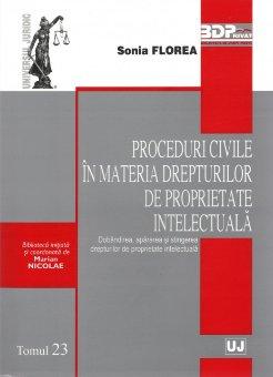 Imagine Proceduri civile in materia drepturilor de proprietate intelectuala