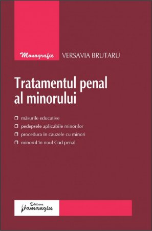 Imagine Tratamentul penal al minorului
