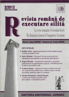 Imagine Revista romana de executare silita, Nr. 2/2012