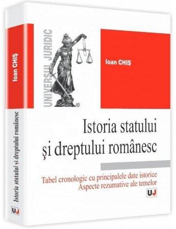 Imagine Istoria statului si dreptului romanesc. Aspecte rezumative ale temelor