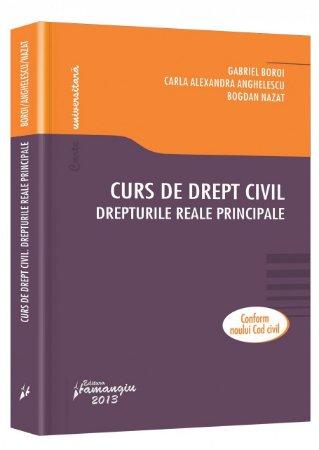 Imagine Curs de drept civil. Drepturile reale principale