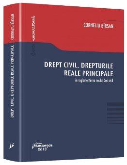 Imagine Drept civil. Drepturile reale principale in reglementarea noului Cod civil