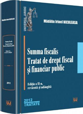 Imagine Summa fiscalis. Tratat de drept fiscal si financiar public