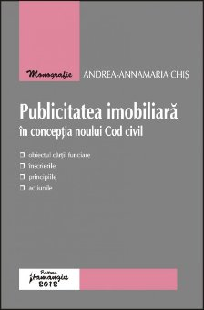 Imagine Publicitatea imobiliara in conceptia noului Cod civil