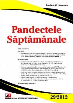 Imagine Pandectele Saptamanale, Nr.29/2012