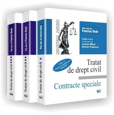 Imagine Tratat de drept civil - Contracte speciale - vol I, II, III (set)