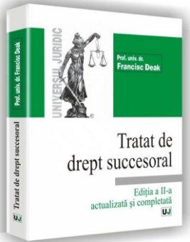 Imagine Tratat de drept succesoral