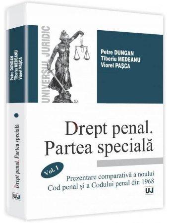 Imagine Drept penal. Partea speciala. Volumul I