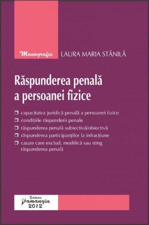 Imagine Raspunderea penala a persoanei fizice
