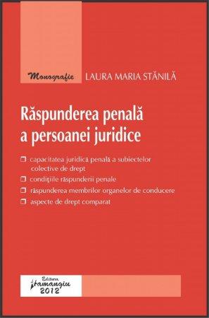 Imagine Raspunderea penala a persoanei juridice