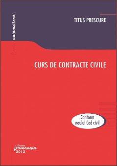 Imagine Curs de contracte civile
