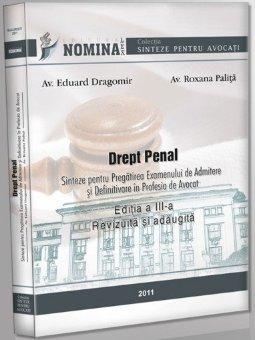 Imagine Drept penal. Sinteze pentru pregatirea examenului de admitere si definitivare in profesia de avocat