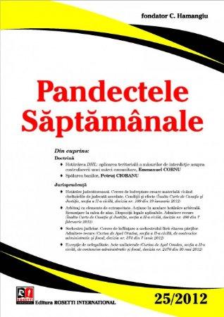 Imagine Pandectele Saptamanale, Nr.25/2012