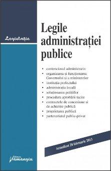 Imagine Legile administratiei publice 20.02.2013