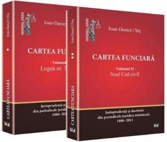 Imagine Cartea funciara. Vol. 1 - Legea 7/1996. Vol. 2 - Noul Cod civil