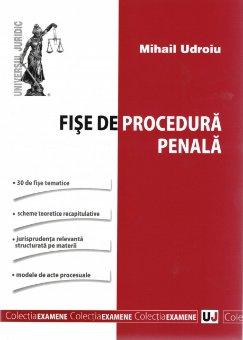 Imagine Fise de procedura penala