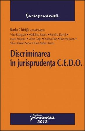 Imagine Discriminarea in jurisprudenta CEDO