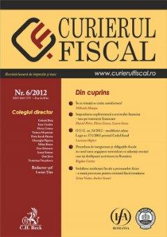Imagine Curierul fiscal, nr. 6/2012