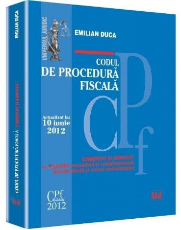 Imagine Codul de procedura fiscala. Actualizat la 10 iunie 2012