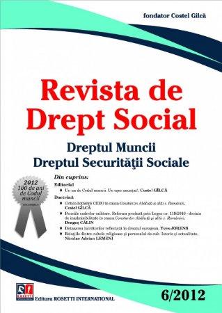 Imagine Revista de Drept Social, Nr. 6/2012
