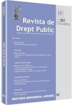 Imagine Revista de Drept Public nr. 1-2/2012