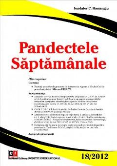 Imagine Pandectele Saptamanale, Nr. 18/2012