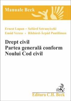 Imagine Drept civil. Partea generala conform Noului Cod Civil