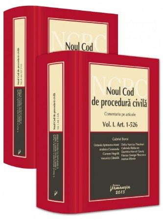 Imagine Noul Cod de procedura civila. Comentariu pe articole