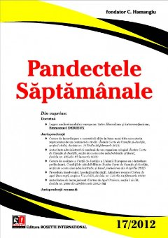 Imagine Pandectele Saptamanale, Nr. 17/2012