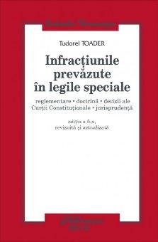 Imagine Infractiunile prevazute in legile speciale ed 5