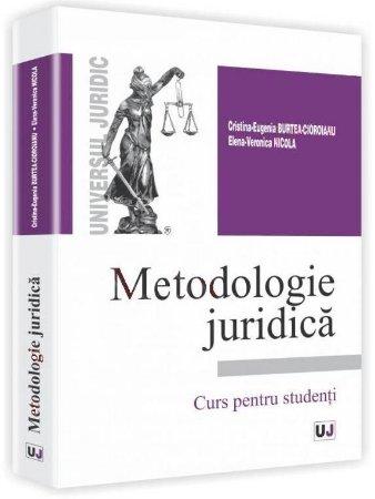 Imagine Metodologie juridica. Curs pentru studenti