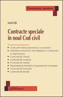 Contracte speciale in noul Cod civil - Uta