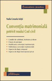 Imagine Conventia matrimoniala potrivit Noului Cod civil