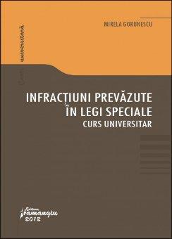 Imagine Infractiuni prevazute in legi speciale Curs