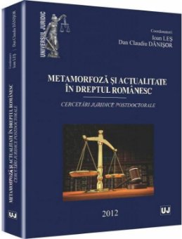 Imagine Metamorfoza si actualitate in dreptul romanesc
