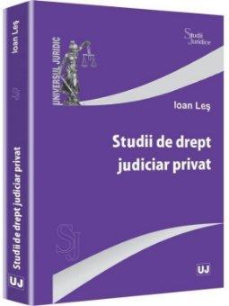 Imagine Studii de drept judiciar privat