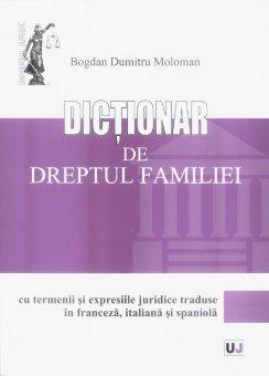 Imagine Dictionar de dreptul familiei